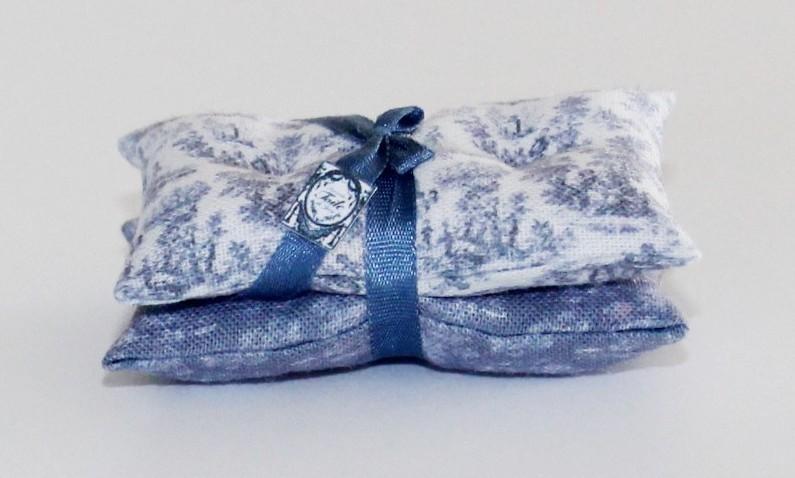 Kussens Blauw Grijs : Luxe kussen set toile de jouy blauw grijs